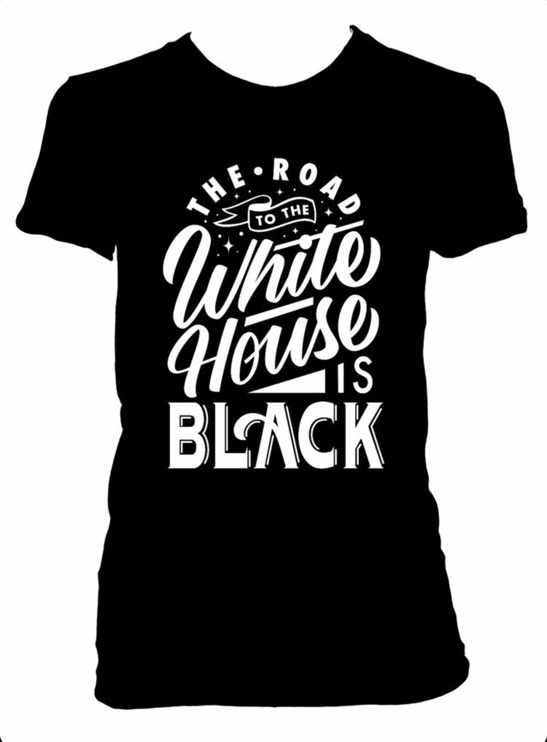 Road To White House Black • T-Shirt